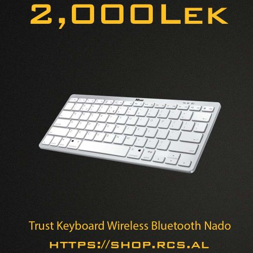 Trust Keyboard Wireless Bluetooth Nado