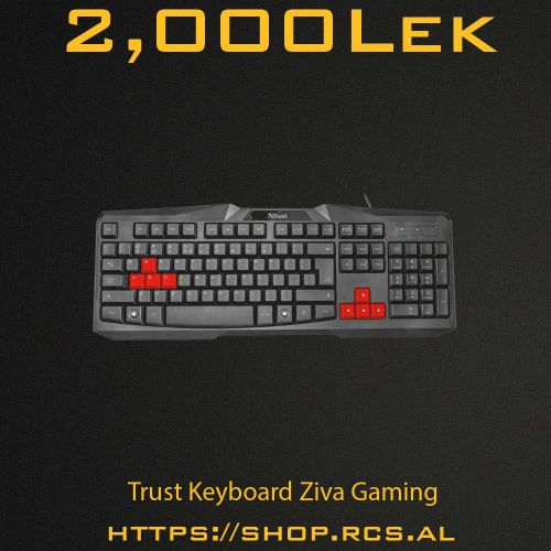 Trust Keyboard Ziva Gaming