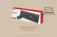 Trust Keyboard + Mouse Wireless, ZIVA